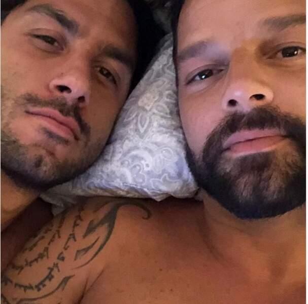 Ricky Martin et Jawan Yosef au réveil