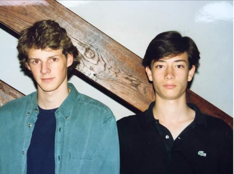 D'ailleurs le voici à 17 ans... À part les cheveux, on ne voit pas le changement !