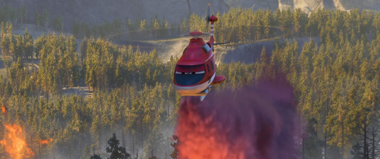 Son nouveau défi ? Devenir un pompier du ciel !