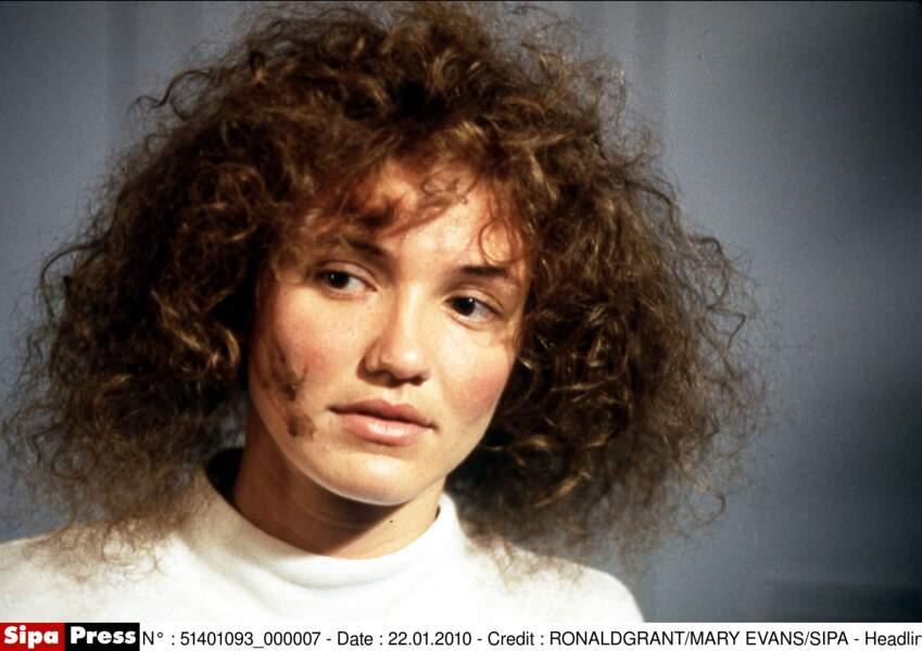 Elle change de look pour le film Dans la peau de John Malkovich (1999)