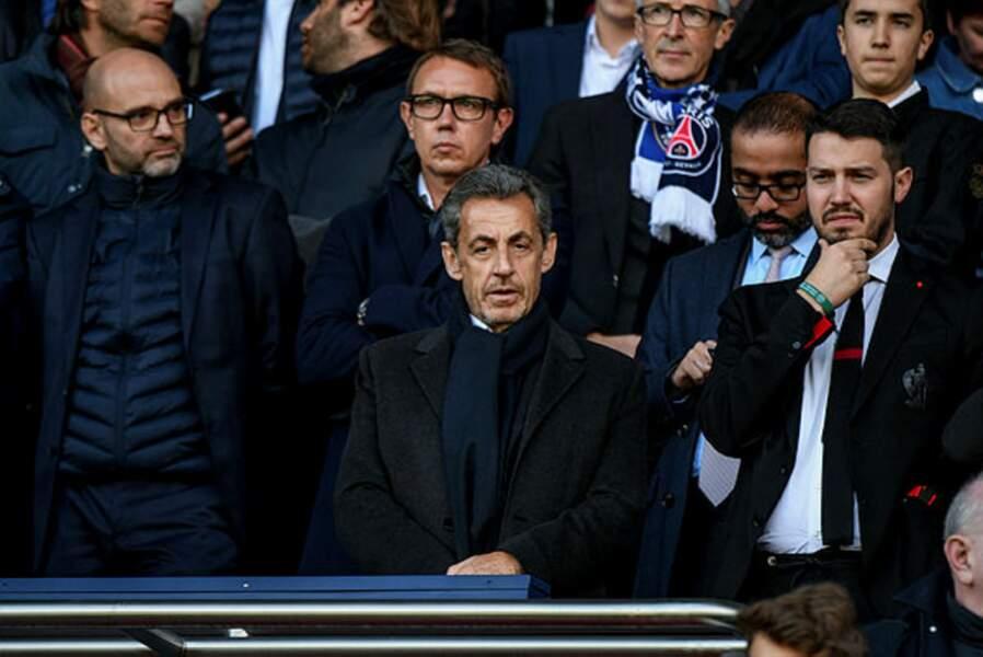 L'ancien président, Nicolas Sarkozy n'a jamais caché son amour pour le PSG