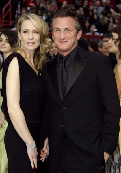 Sean Penn et Robin Wright, un couple glamour et inoubliable.