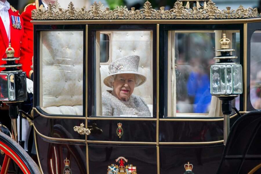 La reine dans son carrosse