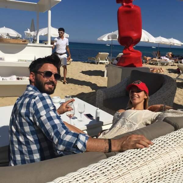 ... ainsi que pour le couple Nabilla-Thomas Vergara à Ramatuelle !