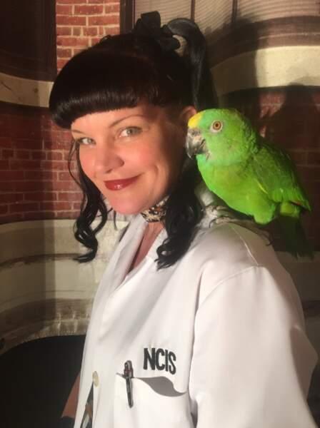 Le temps d'un épisode, Abby s'est fait un nouvel ami