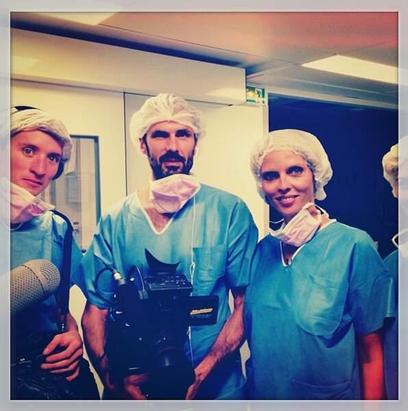 Chapeau la Miss, venue soutenir le travail de Mécénat Chirurgie Cardiaque !