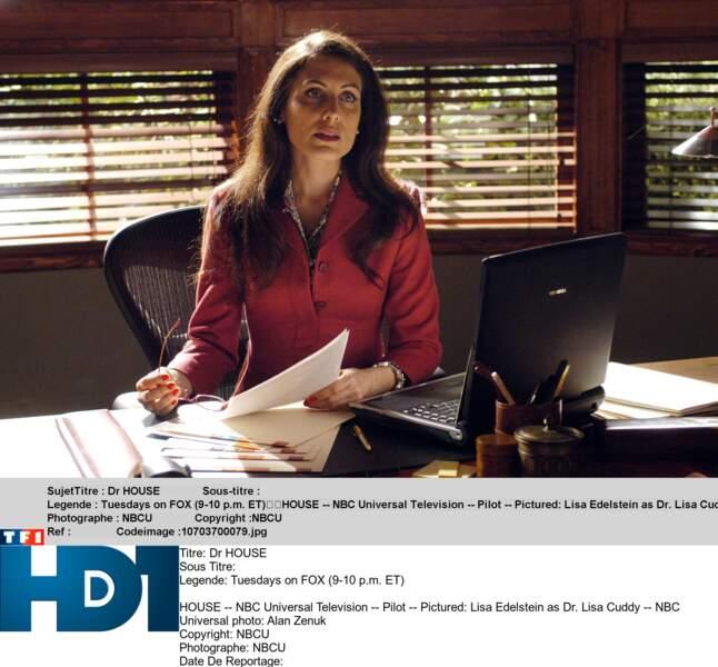 Lisa Cuddy, la directrice de l'hôpital de Princeton-Plainsboro dans lequel officie House