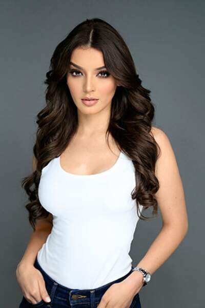Andrea Toscano, Miss Mexique