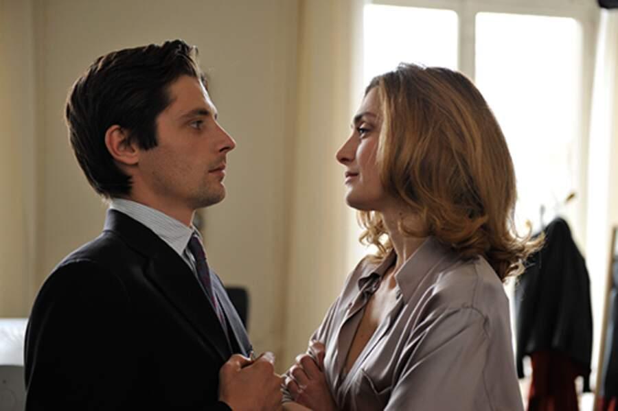 Raphaël Personnaz et Julie Gayet dans Quai d'Orsay en 2013