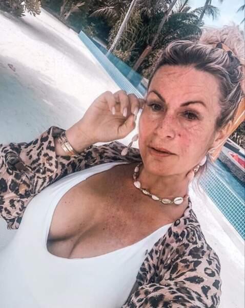 Carla Moreau n'échappera pas aux rides