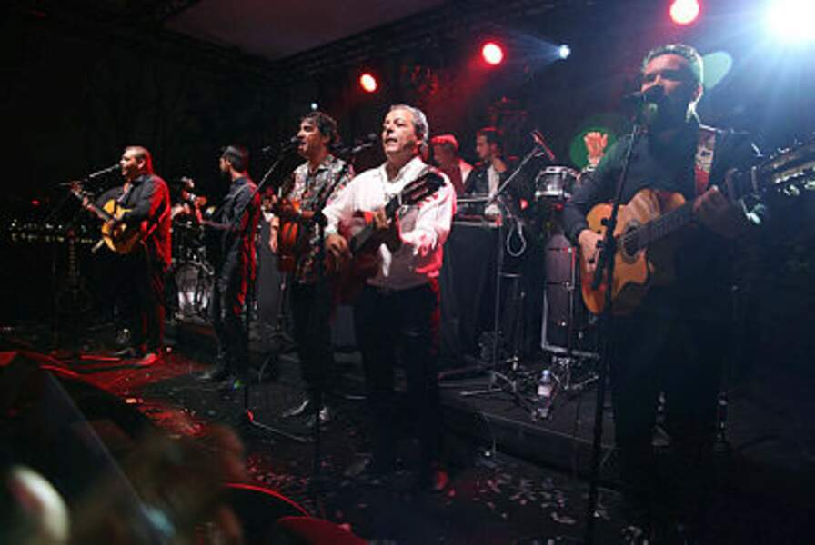 Chico and the Gypsies ont assuré l'ambiance
