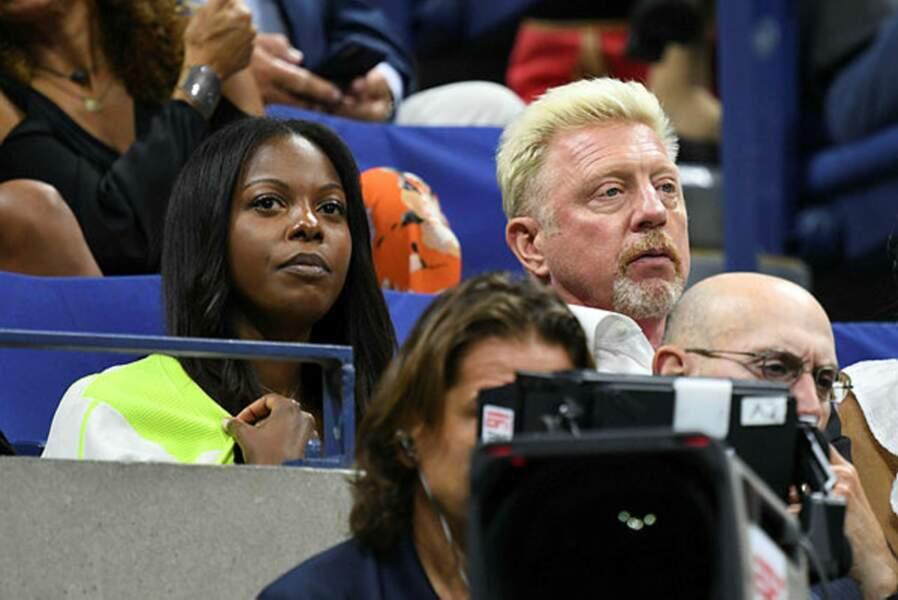 L'ex champion Boris Becker n'a pas manqué un match