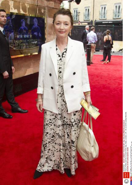 L'actrice anglaise Lesley Manville