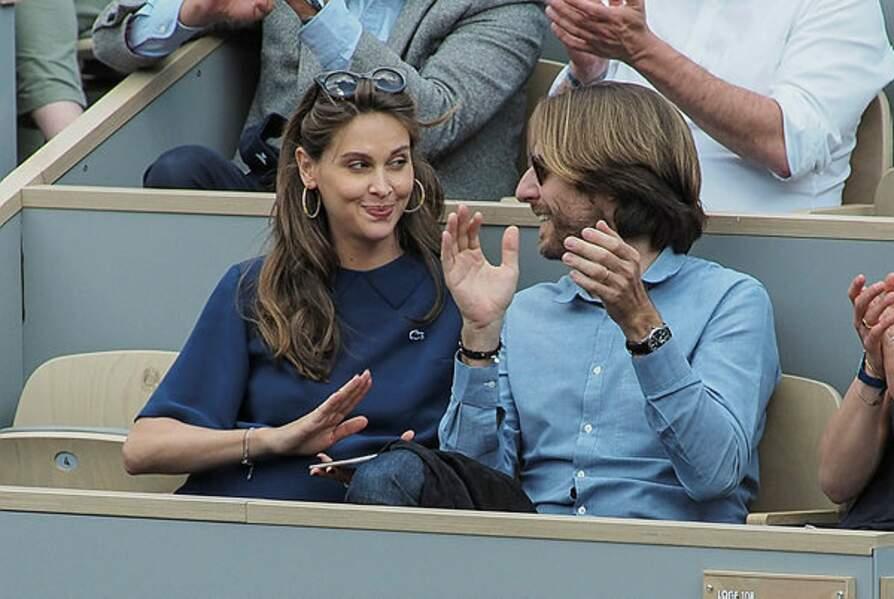 Ophélie Meunier et son mari Mathieu Vergne s'apprêtent à être parents
