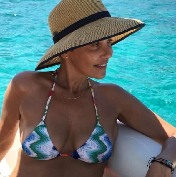 """Même au naturel, sans maquillage, Cristina Cordula est """"soublaïme"""". On admire !"""