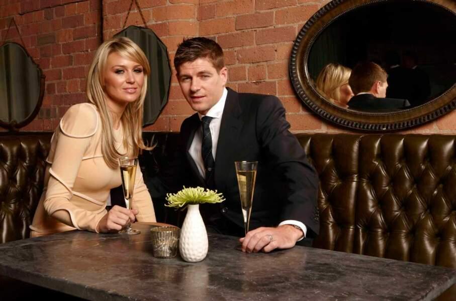 Steven et Alex Gerrard savent poser de manière très naturelle...