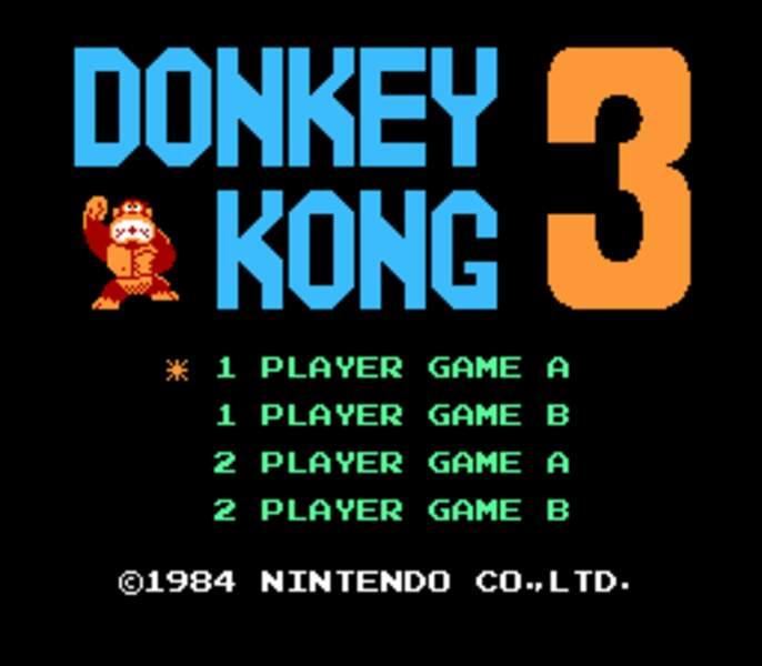 Donkey Kong 3 - Arcade (1983)
