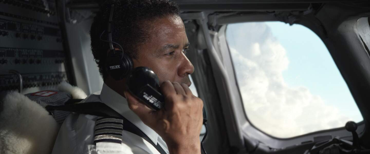 Flight (2012) : Denzel Wahington aux commandes de son avion