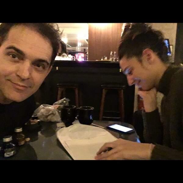 L'acteur et sa compagne écrivent ensemble