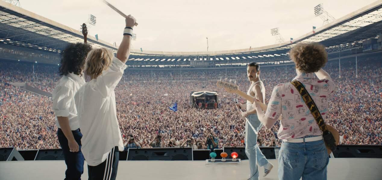 Le concert Live Aid à Wembley en juillet 1985 a été reconstitué pour l'occasion