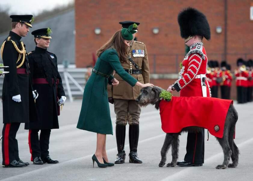 Les fans de Kate Middleton sont nombreux ! Il en existe même à quatre pattes !