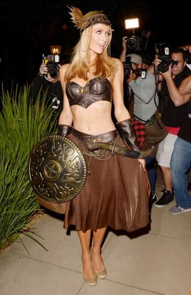 Et sa soeur Paris veut apparemment jouer dans la série Vikings.