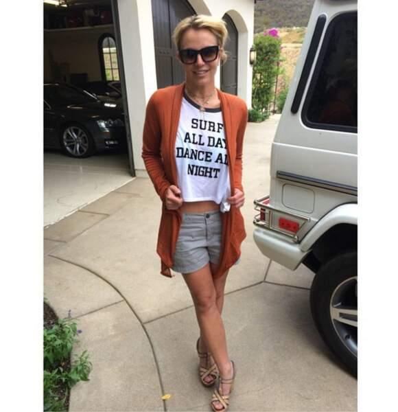 Woah ! Britney Spears a terriblement minci. Attention à savoir s'arrêter !