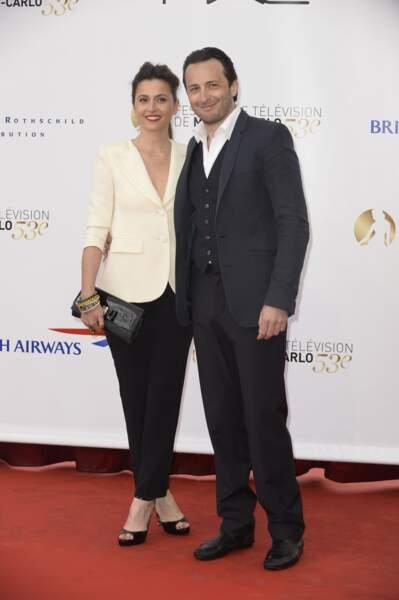 Anne Charier et Michael Cohen de la série Maison Close (Canal+).