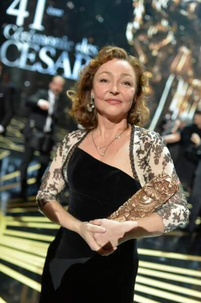 Catherine Frot a obtenu le César de la meilleure actrice pour son rôle dans Marguerite