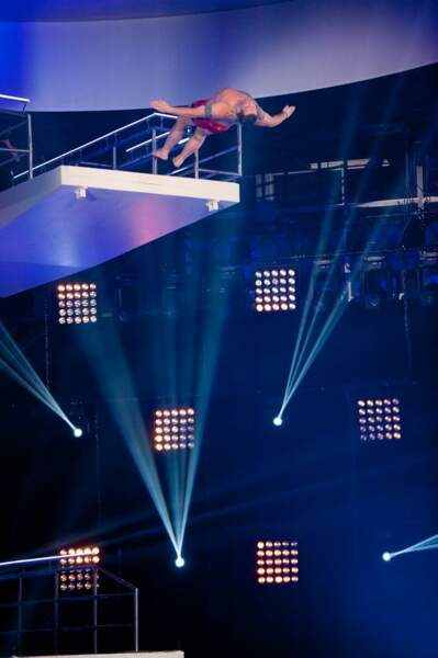 Christian Califano, le premier à sauter en solo
