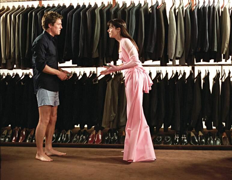 Hugh Grant en perd son pantalon dans L'Amour sans prévis