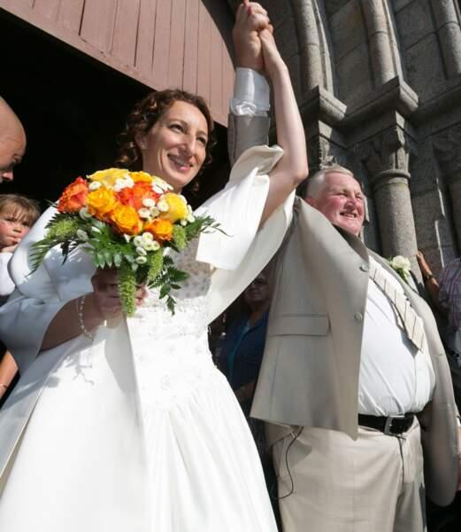 Thierry et Annie très heureux !