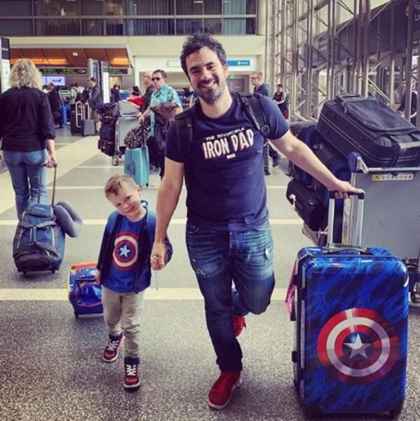 Passion Marvel de père en fils pour Alex Goude et Elliot.