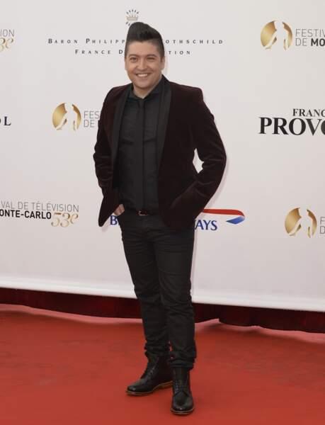 Chris Marques, juré de Danse avec les stars sur TF1.