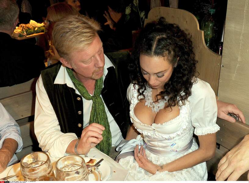 Lilly Becker et son époux Boris Becker.