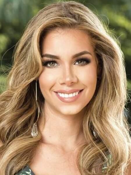Romina Zeballos pour l'Équateur