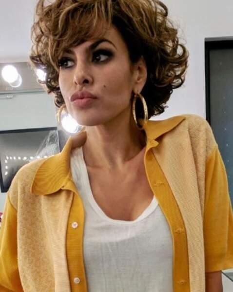 Le nouveau look d'Eva Mendes.