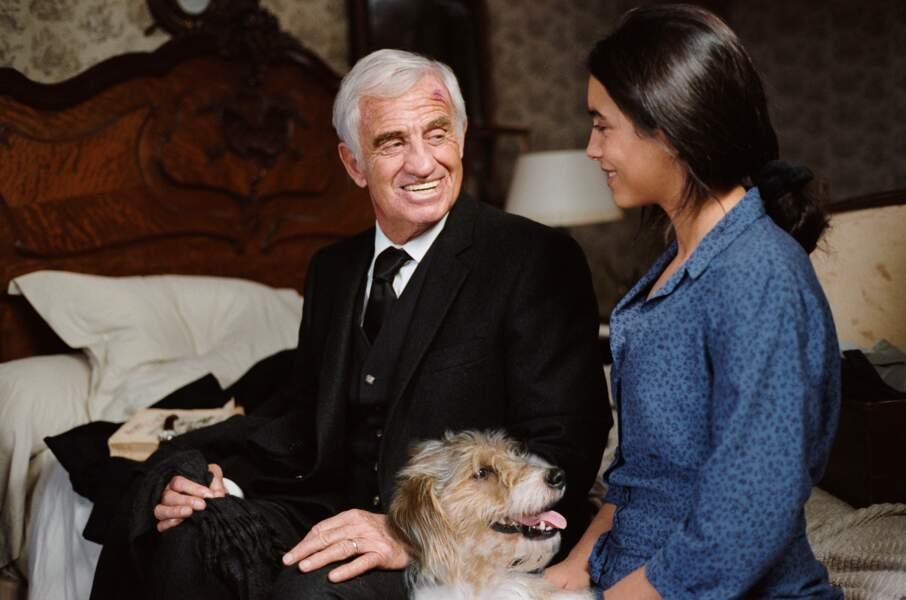 2008 : Un Homme et son chien marque le retour de Jean-Paul Belmondo, après sept ans d'absence
