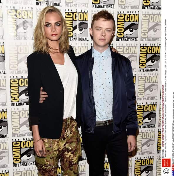 Cara Delevingne et Dane DeHaan sont Laureline et Valérian, les héros de ce film de science-fiction