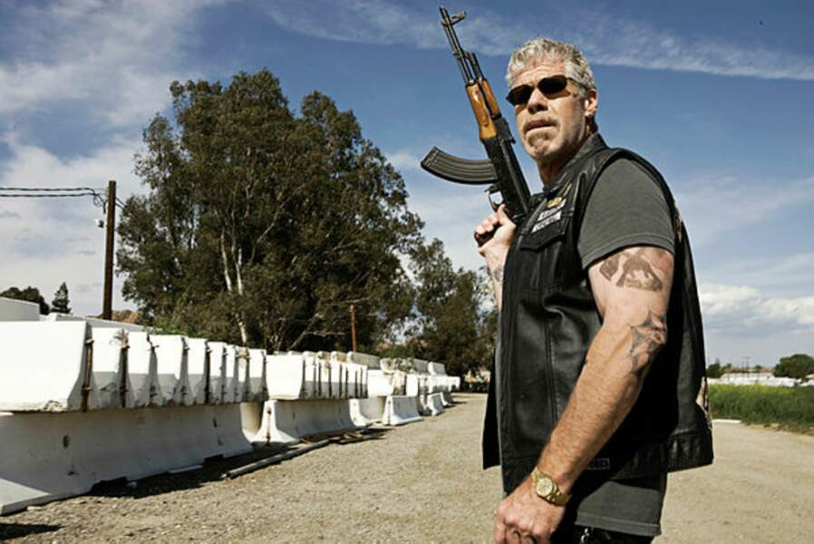 L'interprète de Clay, Ron Perlman, a....