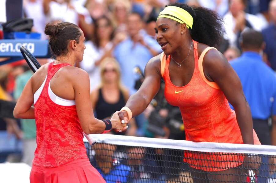 11 septembre, Veni, Vidi, Vinci ! La vétéran italienne détruit le rêve de Grand Chelem de Serena Williams
