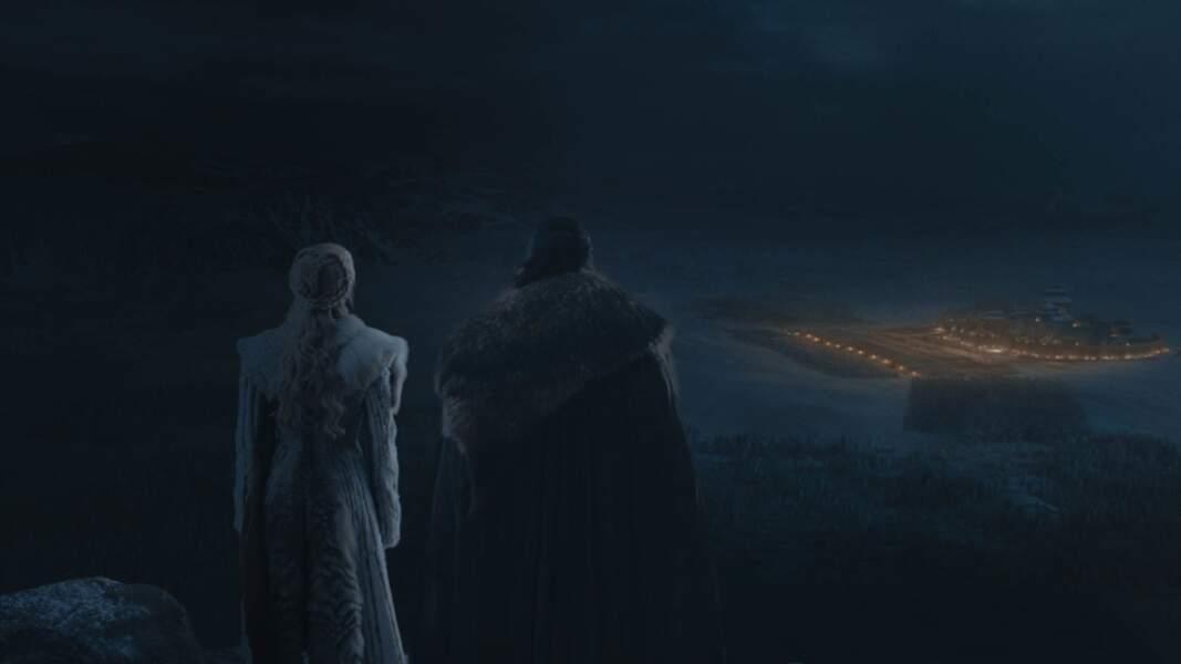 Daenerys et Jon Snow règnent en maître…