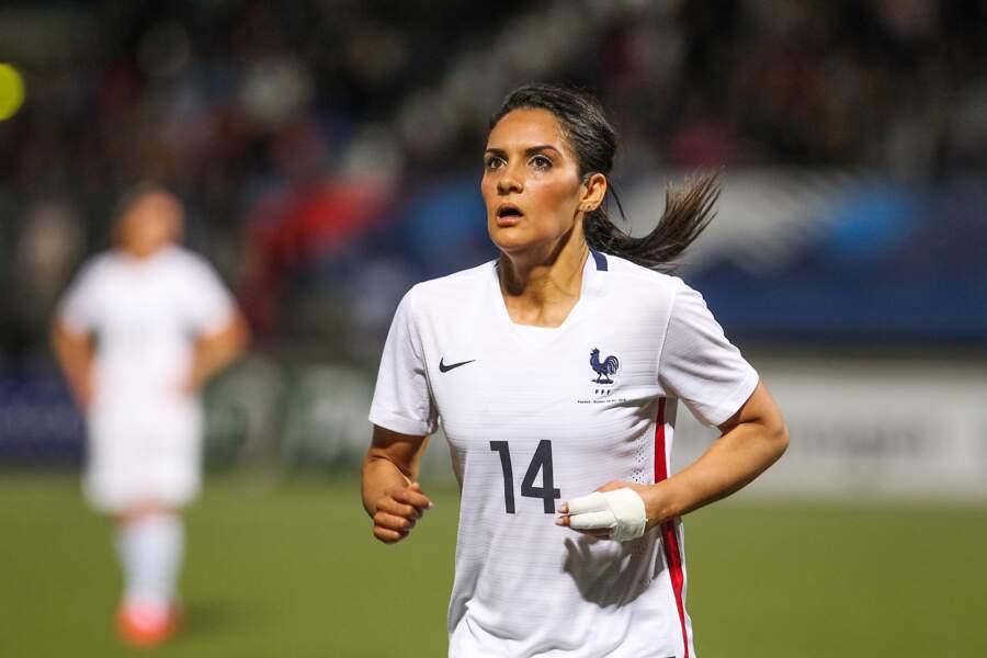 La Lyonnaise Louisa Necib est une des plus expérimentées avec 126 sélections
