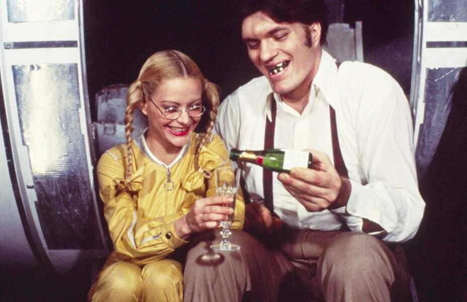 Moonraker (1979) : Blanche Ravalec et Richard Kiel