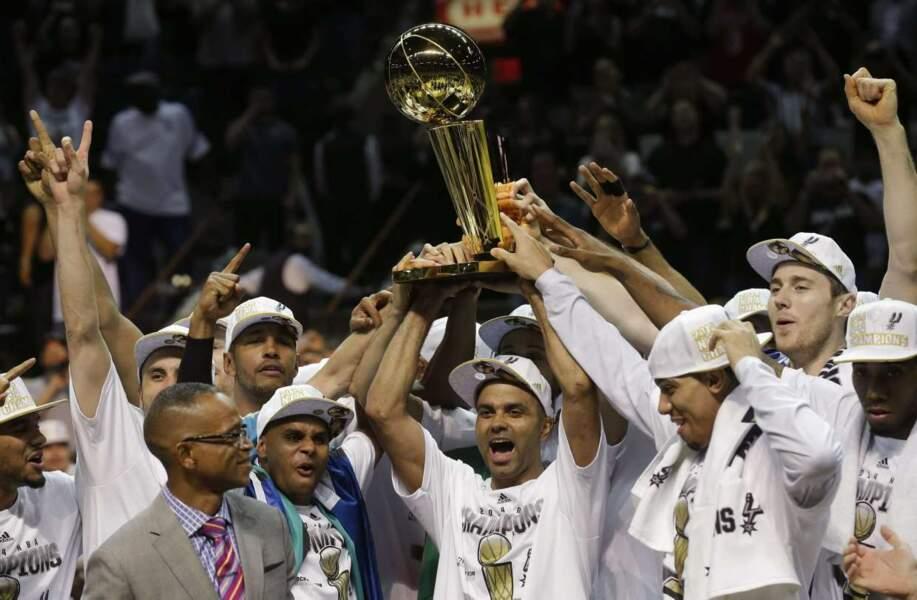 Les Spurs fêtent leur 5e sacre en NBA