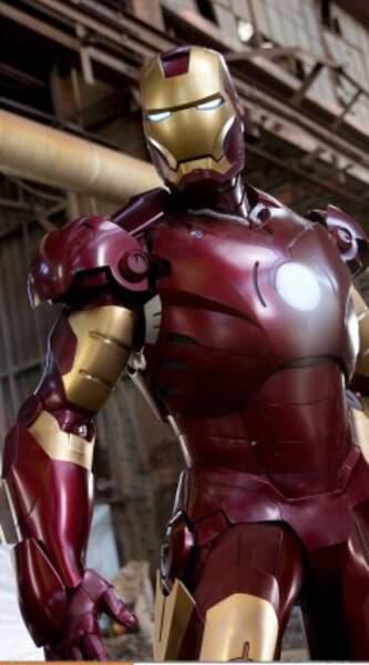 Iron Man, c'est acier coloré...