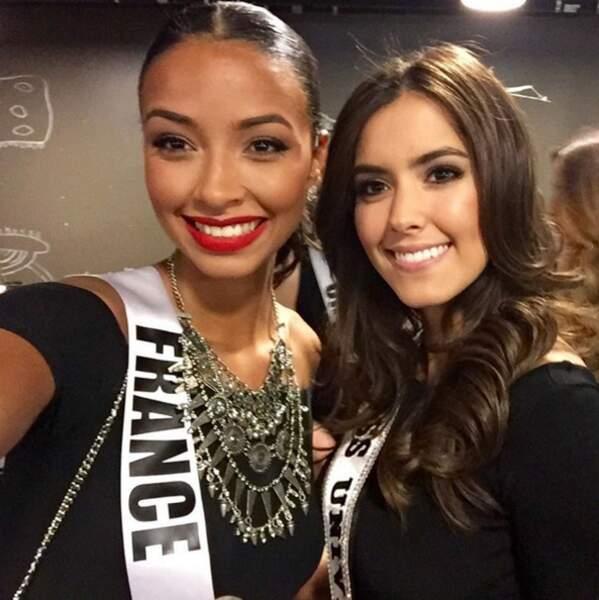 Selfie avec Miss Univers 2014, rien que ça !