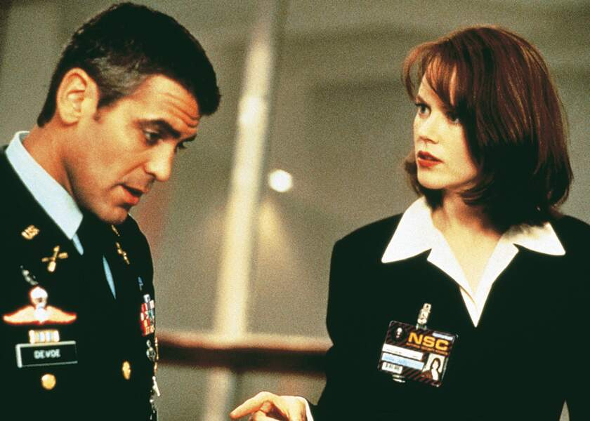 Avec George Clooney dans Le Pacificateur (1997)