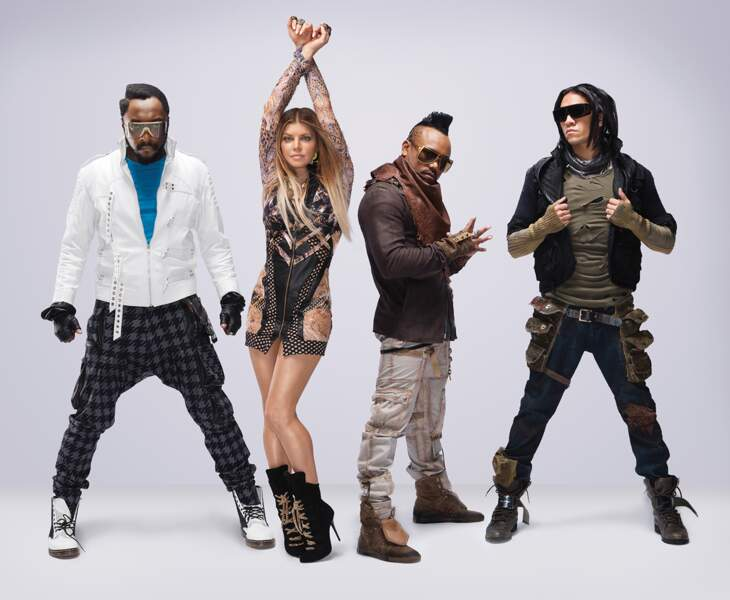 21. The Black Eyed Peas (chanteurs)