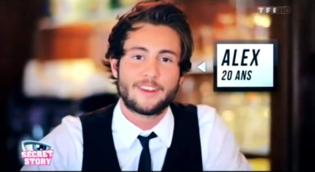 """Alexandre (Saison 6). Son secret : """"Mes deux ex' sont dans la maison"""" (avec Capucine et Yoann)"""